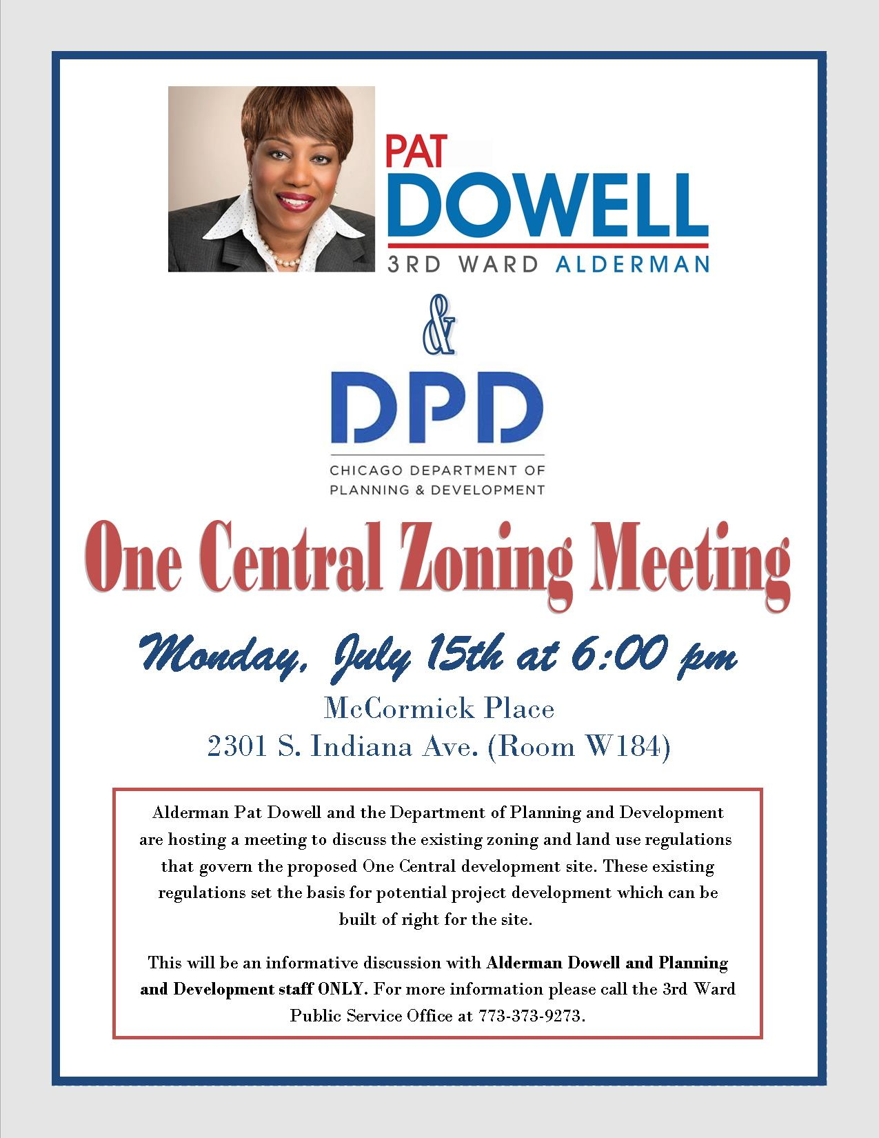 One Central Dowell and DPD Meeting 070119
