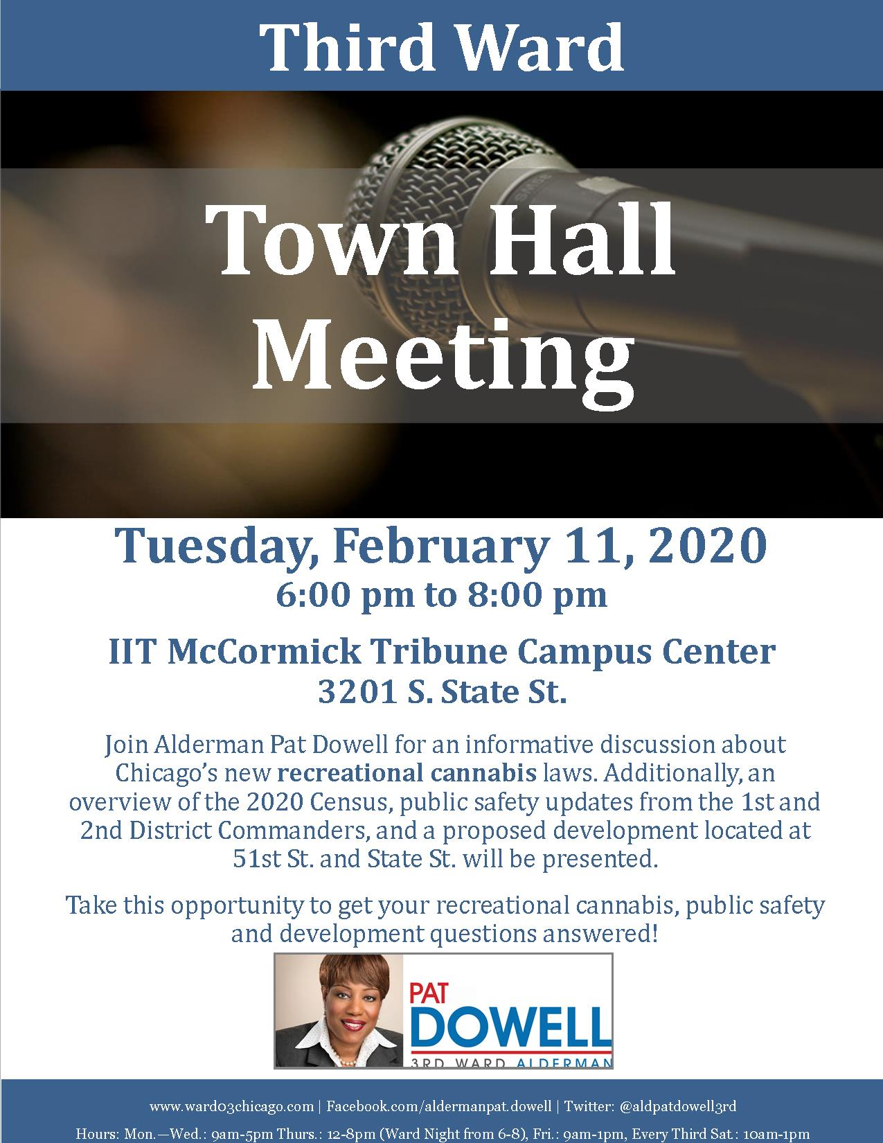 IIT Town Hall Meeting 2020
